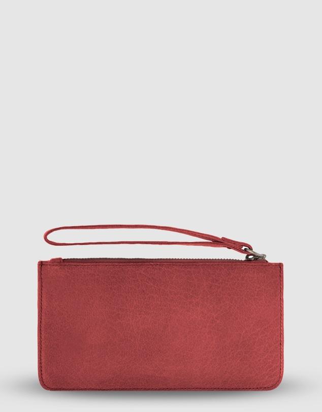 Women Vaucluse Leather Medium Pouch