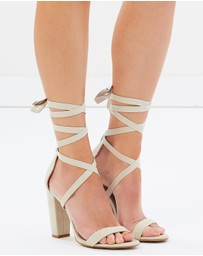 SPURR - Roman Lace Up Heels