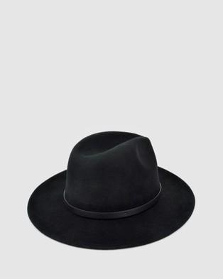 Ford Millinery Frankie Fedora - Hats (Black)