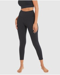 Dharma Bums - High Waisted Wonder Luxe Plain Leggings 7/8