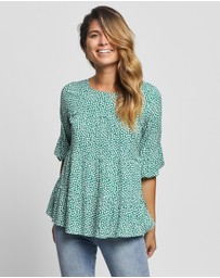 Atmos&Here - Rosie Smock Blouse