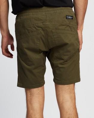 Nena & Pasadena Commander Shorts 2.0 - Shorts (Cypress Green)
