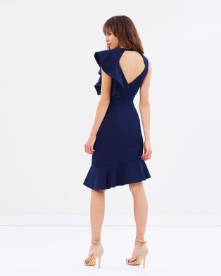 Cooper St – Canyon Shadows Dress – Dresses (Ink)