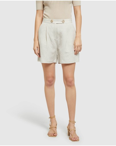 Oxford - Sasha Linen Shorts