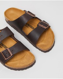 Birkenstock - Unisex Arizona Nu Oiled Narrow Sandals
