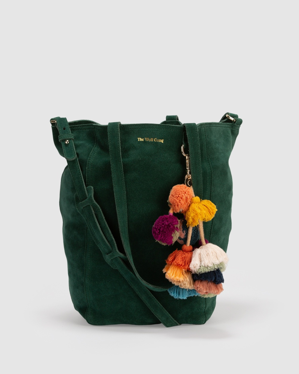 The Wolf Gang Berber Tote Satchels Green