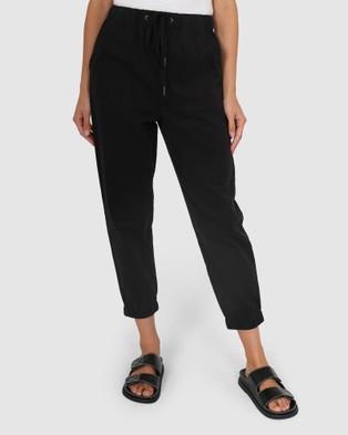 Madison The Label Kara Joggers - Pants (Black)