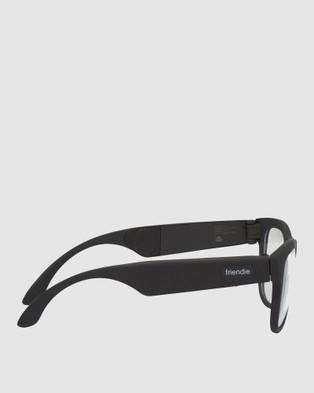 Friendie Frames Classic Audio Eyewear - Tech Accessories (Clear)