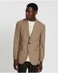 Band of Outsiders - Single-Breasted Button Wool Jacket