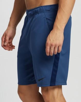Nike Training Dry 5.0 Shorts - Shorts (Mystic Navy, Blue Void & Black)