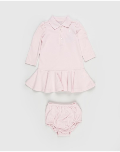 Polo Ralph Lauren - LS Polo Dress - Babies