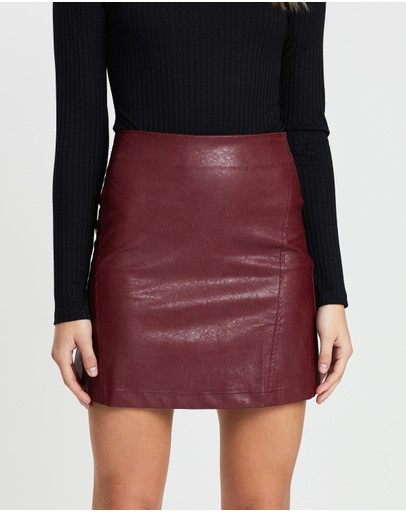 7dc17c5c12 Leather Skirts | Buy Womens Skirts Online Australia- THE ICONIC