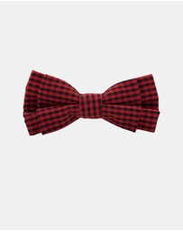 Buckle - Tartan Junior Bow Tie