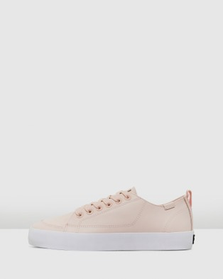 Volley Deuce Leather Low - Low Top Sneakers (Blush Leather)