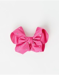 Pixie's Bows - Large Bow with Stones