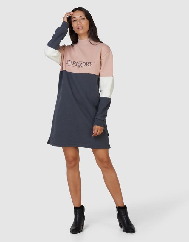 Women NYC Times Colourblock Dress