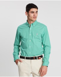 Polo Ralph Lauren - Slim Fit Long Sleeve Sport Shirt