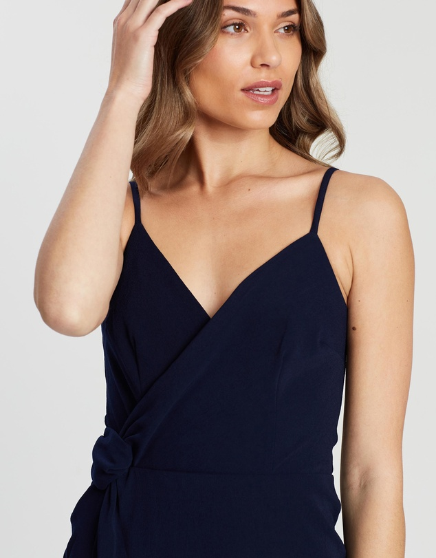 Cooper St - Willow Twist Drape Dress