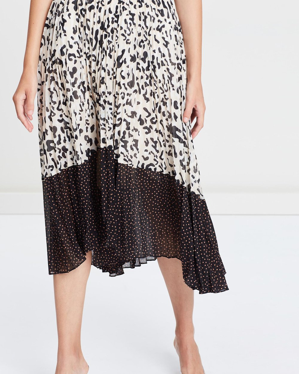 c9c5856a2a Cadillac Pleated Midi Skirt by SABA Online   THE ICONIC   Australia