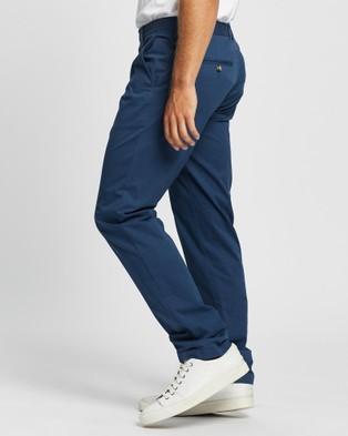Marcs Baxter Lightweight Slim Chino - Pants (LUNA BLUE)