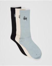 Stussy - Graffiti Socks - 3 Pack