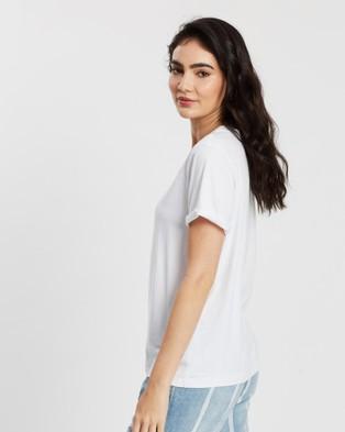 DRICOPER DENIM Baggie Tee - T-Shirts & Singlets (Crispy White)