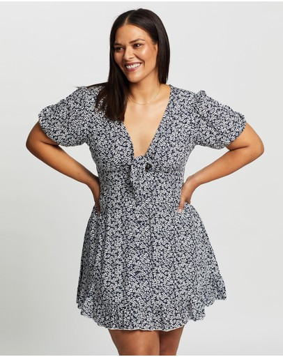 Atmos&Here Curvy - Clara Mini Dress