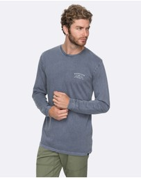 Quiksilver - Mens Spacer Long Sleeve T Shirt
