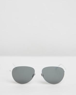 Lacoste L195S - Sunglasses (Matte White)