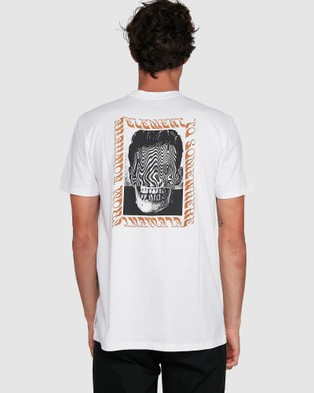 Element Brackett Short Sleeve Tee - T-Shirts & Singlets (WHITE)