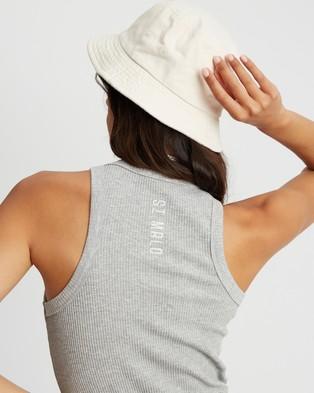 ST MRLO Sanibel Tank - T-Shirts & Singlets (Light Grey)