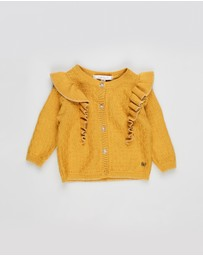 Fox & Finch - Frill Front Cardigan - Babies