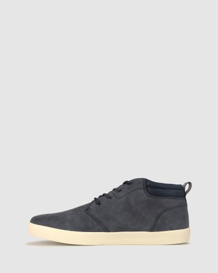 Betts Jamie High Top Lifestyle Sneakers - Sneakers (Navy)
