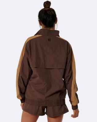 Nicky Kay Kay Two Tone Jacket - Coats & Jackets (Brown)