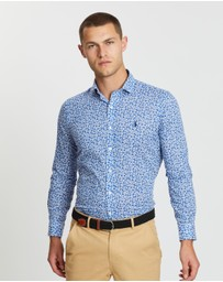 Polo Ralph Lauren - Long Sleeve Printed Poplin Sport Shirt