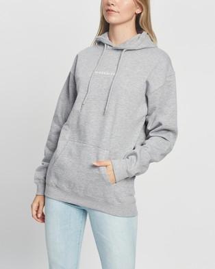 Missguided Missguided Oversized Hoodie - Hoodies (Grey Marle)