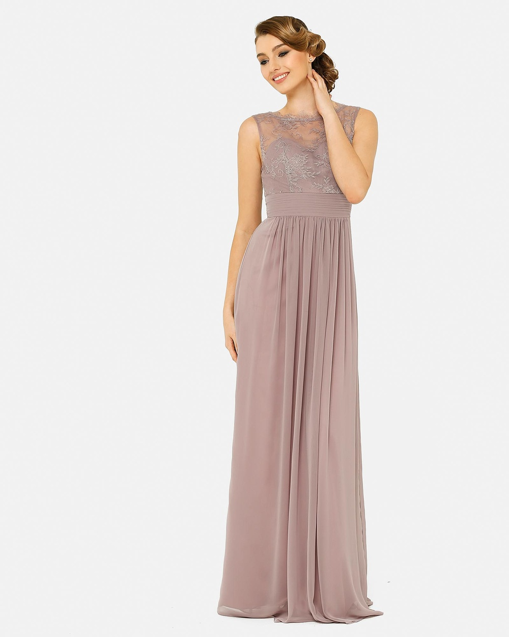 Tania Olsen Designs Charlotte Dress Bridesmaid Dresses Oyster Charlotte Dress