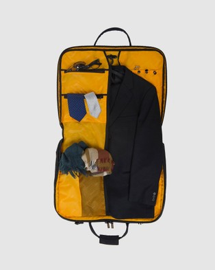 American Tourister AT Accessories Smart Garment Bag - Travel and Luggage (Black & Yellow)