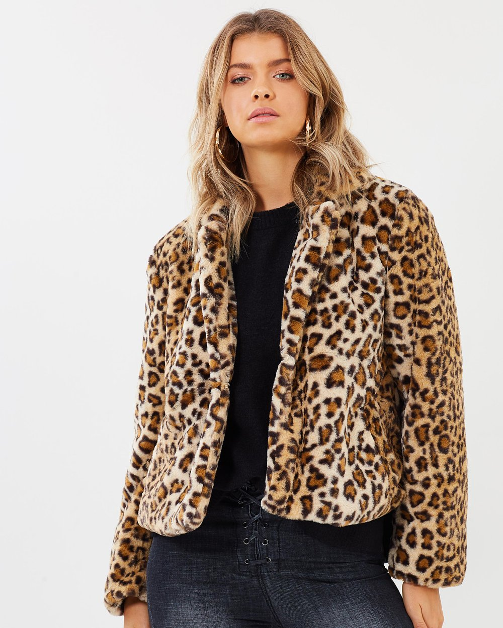 5aa115a07ecc Nia Faux Fur Coat by Atmos&Here Online | THE ICONIC | Australia