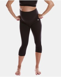 Active Truth - Mama 3/4 Length Maternity Tights