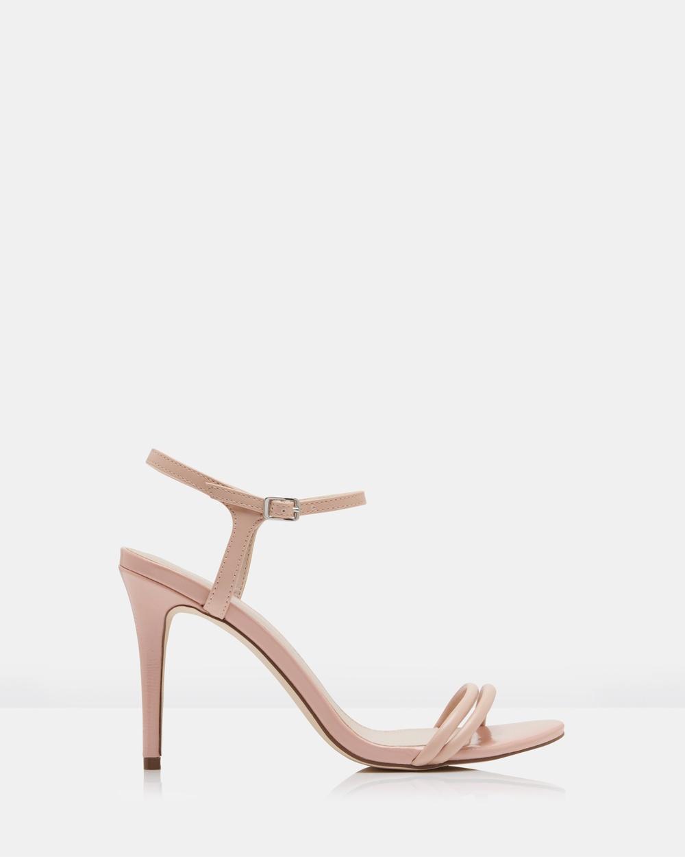 Forever New Abigail Tubular Vamp Heels Mid-low heels Pink Abigail Tubular Vamp Heels