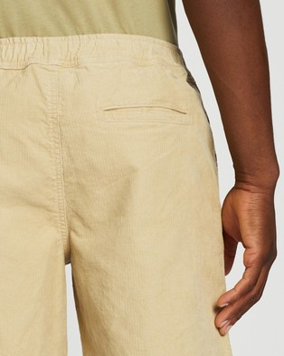 Locale Textured Utility Shorts - Shorts (Sand)