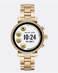 Michael Kors - Michael Kors Gold-Tone Sofie Display Smartwatch