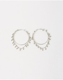 Samantha Wills - Nightfall Hoop Earrings