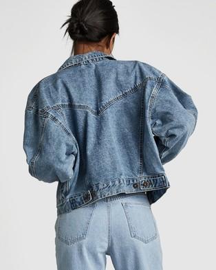 Cotton On 90s Denim Jacket - Denim jacket (Jetty Blue)
