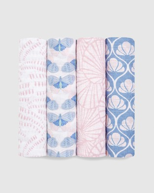 Aden & Anais Classic 4 Pack Swaddles - Wraps & Blankets (Deco)