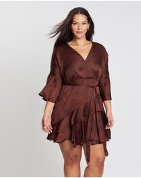 Atmos&Here Curvy - Alice Wrap Dress