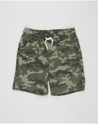 Cotton On Kids - Henry Slouch Shorts - Kids-Teens