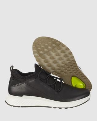 ECCO ST1 Women's Sneakers - Lifestyle Sneakers (Black)