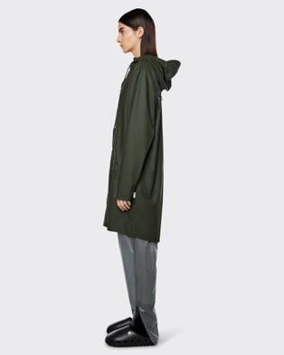 RAINS Long Jacket - Accessories (Green)